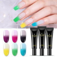 BORN PRETTY 20ml Thermal Gel Polish Poly Extension Color Changing Soak Off Gel