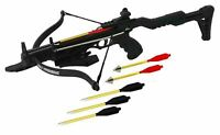 80lbs 200+ FPS Self Cocking Hunting Crossbow Recurve Pistol Grip cross bow