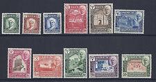 Aden Shihr Et Mukalla 1942 (Sg 1-11) F/ VF MH