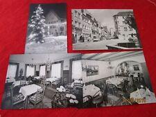 4 Ansichtskarten - Postkarten - AK´s - Wangen im Algäu  /S46