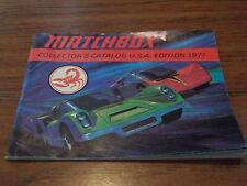 MATCHBOX 1971 COLLECTORS GUIDE USA EDITION CATALOG