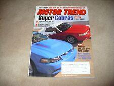 MOTOR TREND MAGAZINE JULY 2000