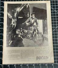 1967 Motorcycle Magazine Ad  -  DUCATI