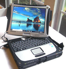 Panasonic Toughbook CF-19 TOUCHSCREEN, GPS WIND 10, 320Gb HDD Complete Laptop