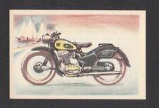 NSU Max Vintage 1954 Motorcycle Collector Card