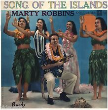 MARTY ROBBINS Song Of The Islands COLUMBIA MONO (6 EYE) CL 1087 VINYL LP RECORD