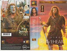 VHS * Braveheart * 1995 20th Century Fox Issue - Classic Adult Drama Bio/History