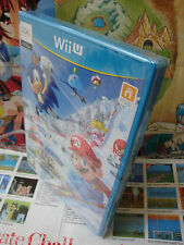 Nintendo Wii U:Mario & Sonic aux Jeux Olympiques d'Hiver [TOP] NEUF - Fr