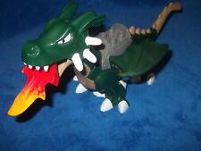 LEGO DUPLO RITTERBURG RITTERTUNIER aus 7846 Riesiger Drache 4785 Grün Toll