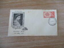 Australia 1953 fdc Queens Coronation Stamp