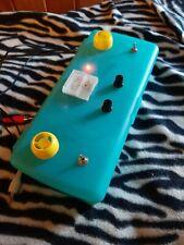 Retro circuit bent synthesizer video glitch mixer