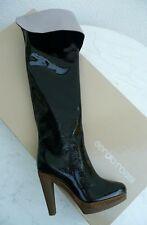 Sergio Rossi Overknees 37,5 Plateau Stiefel Boots Heels Stivali  neu UVP 760€