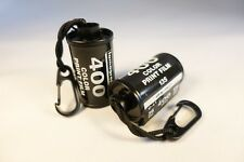 X1 Retro LOMOGRAPHY 35mm Film Canister Keyring(black paracord & black caribina)