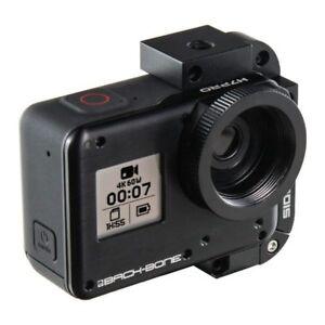 H7PRO MODIFIED GOPRO HD HERO7 BLACK CAMERA C-CS-M12-DSLR 4K RAGECAMS BACKBONE
