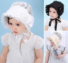 Baby Girl Newborn Kids Infant Bowknot Hat Cap Beanie Photography Props Bonnet
