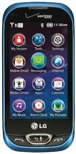 LG Extravert 2 VN280 - Blue (Verizon) Cellular Phone Qwerty Touch Screen
