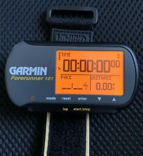 Garmin Forerunner 101 Gps Waterproof Running Watch Collector's Item