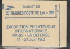 FRANCE carnet DELACROIX 2186c1 avec RE neuf**