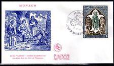 MONACO FDC - 818 1 - CROIX ROUGE - 4 Mai 1970 - LUXE