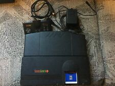 Turbo Grafx 16 And Booster console recapped and working. pc engine duo nintendo