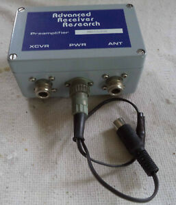 Used Advanced Receiver Research Preamplifier Model MML43-VDC with N-Connectors