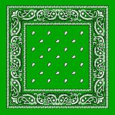 Bufanda de mujer de color principal verde