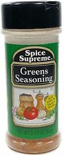 Spice Supreme® GREENS SEASONING new & fresh USA MADE spices Meat Salad Veggies