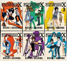 Mysterious Girlfriend X Series English Manga Collection Set 1-6 Paperback Lot
