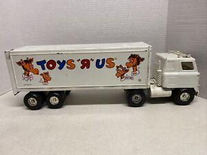 Ertl shell tanker truck Metal Car Toy  stamped steel toys 1980s