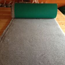 Traditional Vet Bed Greenback Dog Whelping Fleece  Grey 300cm x 75cm  Freepost