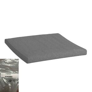 IKEA POANG Footstool/Ottoman Cushion Lysed Gray (Cushion Only)