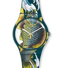 "SWATCH NEW GENT ""WAVED KOI"" (SUOZ152) NEUWARE"