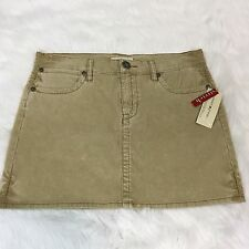 Tommy Hilfiger Tommy Jeans Women's Corduroy Mini Skirt Size 11 New
