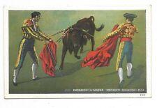 BULL FIGHTING Matador Engaging Bull