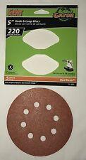 "Gator Power 5"" 8 Hole Random Orbit Sanding Disc New"