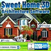 Sweet Home 3D Architect Software Home Kitchen Bed Bath Remodel Landscape Design