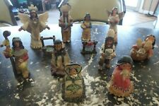 Lot Of Eleven (11) Native American Figurines Friends Of The Feather And Others