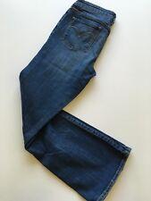 "Womens 12 Levis Jeans Slight Curve Classic Boot Cut Stretch 30"" Inseam Medium"