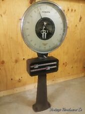 Vintage Kron Warehouse Freight Scale -Antique Factory Lollipop 6+ Feet, 2000 lbs