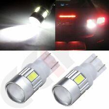 Projector 2x Hi Power Bulb 6000K White 194 161 T10 T15 LED Parking Light canbus