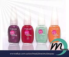 4 x Maybelline Mini Colorama Nail Polishes 7.5ml