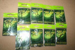 10 ct Mudville Catmaster O'Shaughnessy WG Size 5/0 40 Catfish hooks total TT1