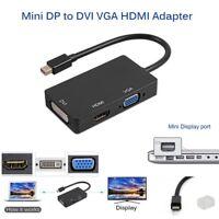 Mini Display Port Thunderbolt vers HDMI VGA DVI Adaptateur Pour MacBook Pro Mac