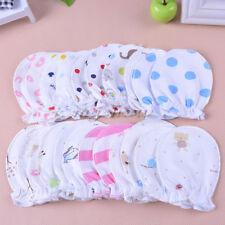 10 pairs Newborn Baby Soft Cotton Handguard Anti Scratch Mittens Gloves Infant