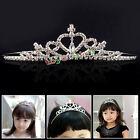 Cute Rhinestone Princess Girl Crystal Wedding Crown Headband Tiara Hair Band