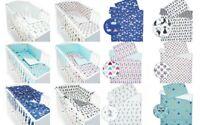 Kinderbettwäsche 3.Tlg SET 100 x 135 cm + Nestchen Babybettwäsche 100% Baumwolle