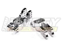 Integy T7711SILVER Rear Hub Carrier(2)for Ofna Ultra LX One LX2-E