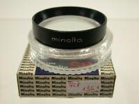 Minolta SR Nahlinse Close-up Objektiv Lens Filter 55mm 55 E55 Japan 1361/9