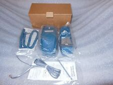 GTE 2384 Desk / Wall Convertible Corded Telephone - Teal Blue Color