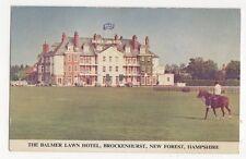 Balmer Lawn Hotel Brockenhurst Hampshire Postcard 231a